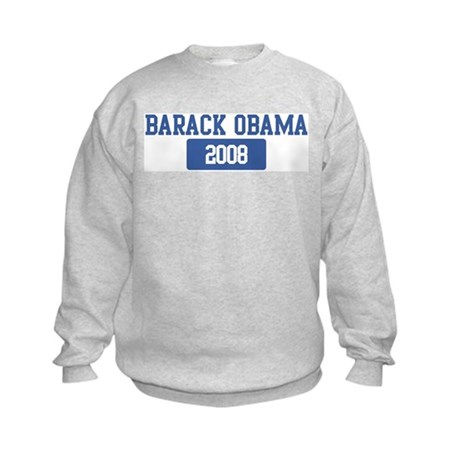 Barack Obama 2008 (blue) Kids Sweatshirt