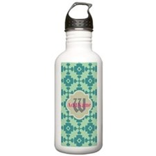 Monogrammed Unique Til Water Bottle