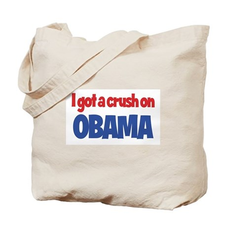 I Got a Crush on Obama Tote Bag