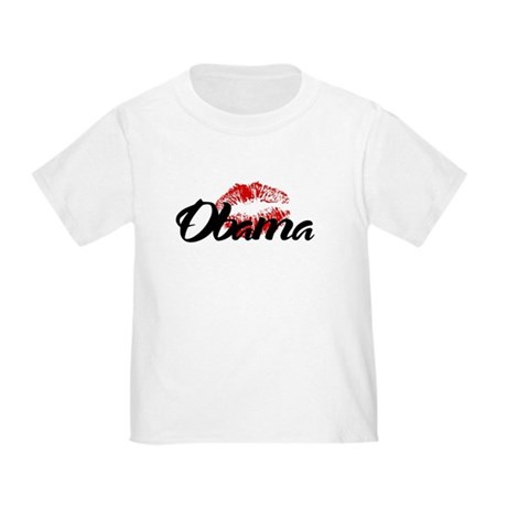 Obama Kiss Toddler T-Shirt