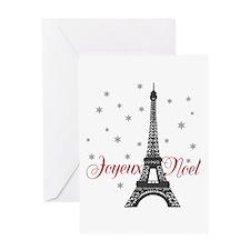 Paris Christmas Greeting Cards