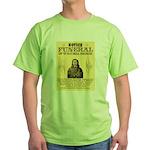 Wild Bill Hickock Green T-Shirt