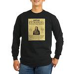 Wild Bill Hickock Long Sleeve Dark T-Shirt