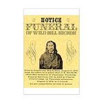 Wild Bill Hickock Mini Poster Print