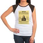 Wild Bill Hickock Women's Cap Sleeve T-Shirt