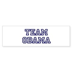 Team Obama Bumper Sticker