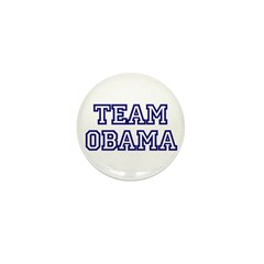 Team Obama Mini Button