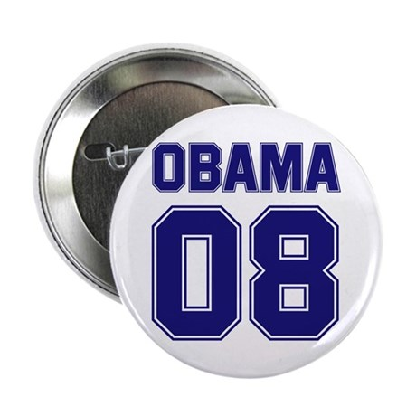 "Obama 08 (sport) 2.25"" Button (10 pack)"
