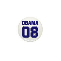 Obama 08 (sport) Mini Button