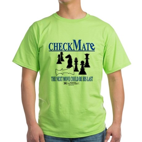 CheckMate movie Green T-Shirt
