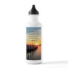 HEBREWS 11:1 Water Bottle