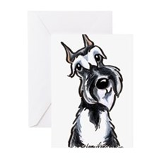 Funny Giant schnauzer Greeting Cards (Pk of 20)