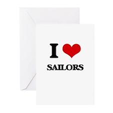 I love Sailors Greeting Cards