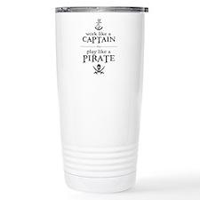 Cute Ship Travel Mug