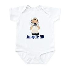 Annapolis Sailor Infant Bodysuit