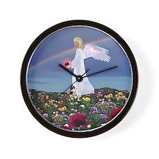 July Birthday Angel : Wall Clock