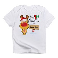 First Christmas Reindeer Infant T-Shirt