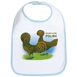 Golden Polish Fowl Bib