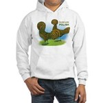 Golden Polish Fowl Hooded Sweatshirt