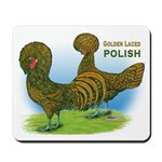 Golden Polish Fowl Mousepad