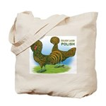 Golden Polish Fowl Tote Bag
