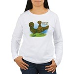 Golden Polish Fowl Women's Long Sleeve T-Shirt