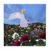 September Birthday Angel : Tile Coaster