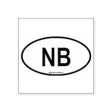 """Funny North america Square Sticker 3"""" x 3"""""""