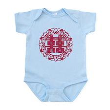 Vintage Double Happiness Infant Bodysuit