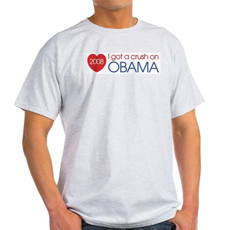 I got a crush on obama (simpl Light T-Shirt