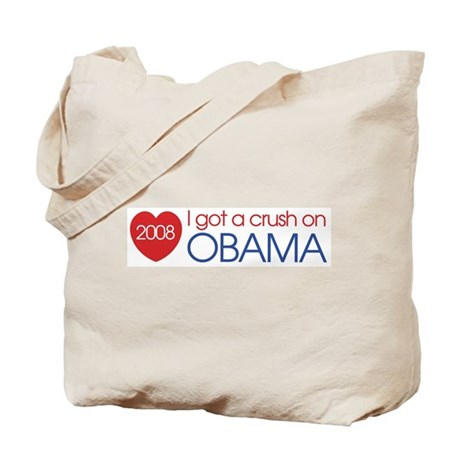 I got a crush on obama (simpl Tote Bag