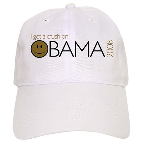 I got a crush on obama (Smile Cap