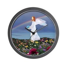 December Birthday Angel : Wall Clock