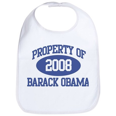 Property of Obama 2008 Bib