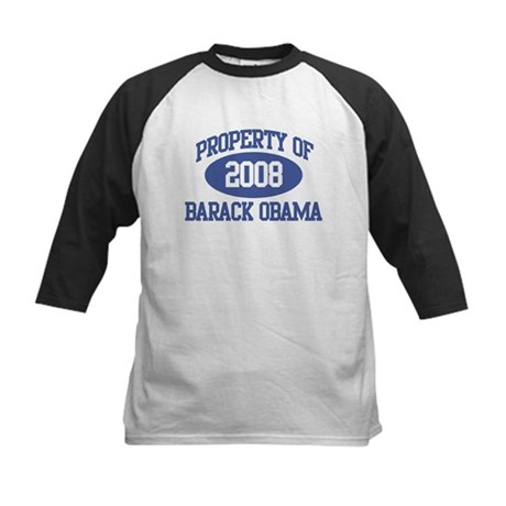 Property of Obama 2008 Kids Baseball Jersey
