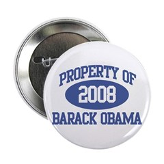 Property of Obama 2008 2.25&quot; Button (10 pack)
