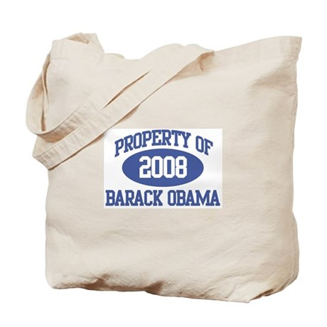 Property of Obama 2008 Tote Bag