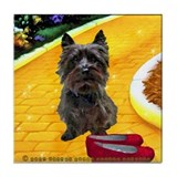 Ruby Shoes Cairn Tile Coaster