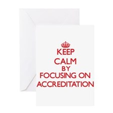 Accreditation Greeting Cards