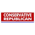 Conservative Republican Bumper Sticker