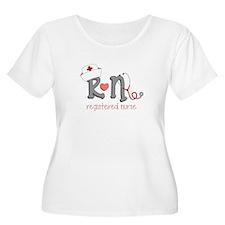 Registered Nurse Plus Size T-Shirt