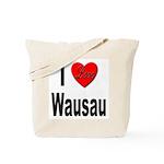I Love Wausau Tote Bag
