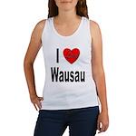 I Love Wausau Women's Tank Top