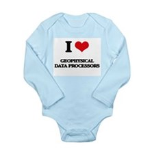 I love Geophysical Data Processors Body Suit
