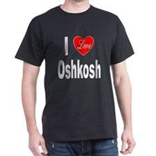 I Love Oshkosh (Front) T-Shirt