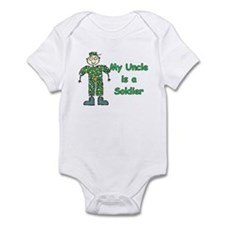 My Uncle is a Soldier Infant Bodysuit
