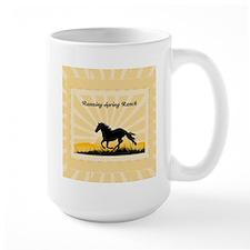 Western Custom Text Mug