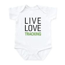 Live Love Tracking Infant Bodysuit