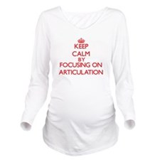 Articulation Long Sleeve Maternity T-Shirt