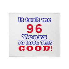 It Took Me 96 Years To Look This Goo Throw Blanket